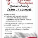 Obchody 100- lecia Odzyskania Niepodległości przez Polskę